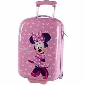 Valise Enfant Fille : valise cabine enfant minnie mouse 48cm rose rose achat vente valise bagage 3662796029602 ~ Teatrodelosmanantiales.com Idées de Décoration