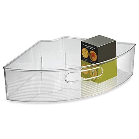 Interdesign® Cabinet Binz™ Lazy Susan Quarter Wedge