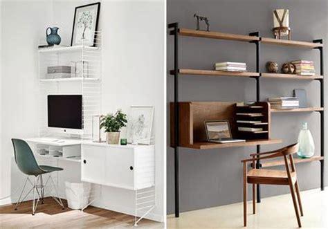 bureau avec rangement intégré le bureau un espace design et fonctionnel paperblog