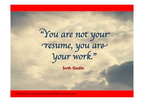 Resuming Work Quotes by You Are Not Your Resume