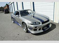 2 Fast 2 Furious Skyline GTR R34 For Sale On Craigslist