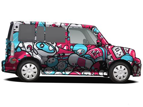 Chibi Cartoon Scion Car Graphic By Artmagetommy On Deviantart
