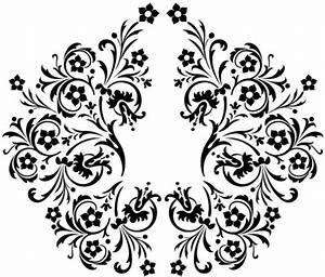 Beautiful black and white pattern vector Free vector in ...