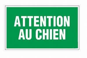 Panneau Attention Au Chien : panneau pvc rectangle attention au chien achat en ligne ~ Farleysfitness.com Idées de Décoration