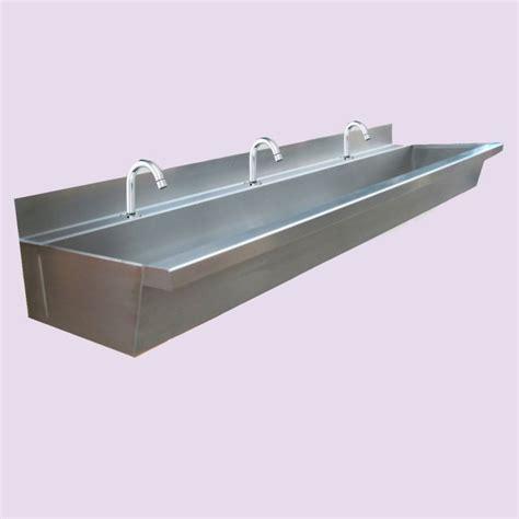 stainless steel trough sink stainless steel wash trough proj1 pinterest