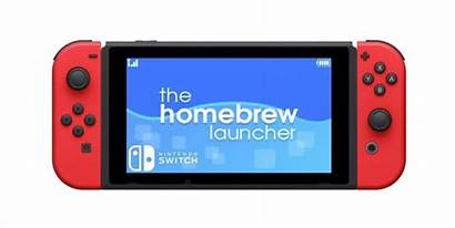 Switch Nintendo Homebrew Launcher Exploit Payload Running