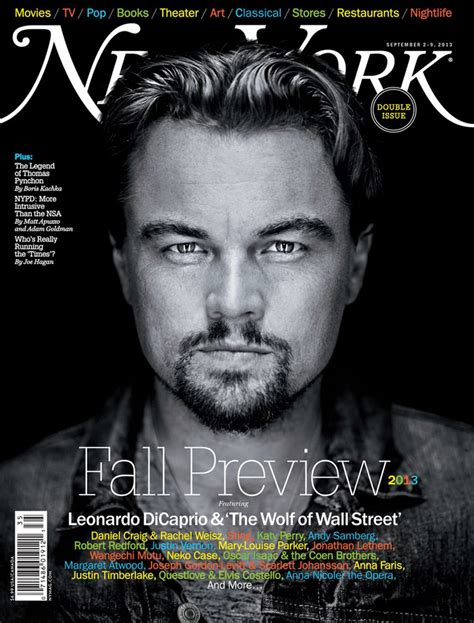 Leonardo Dicaprio By Robert Maxwell For New York Magazine