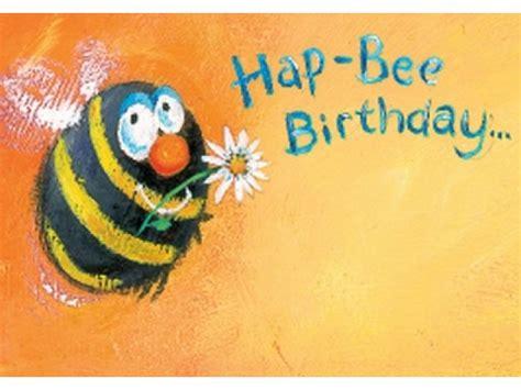 hap bee birthday card