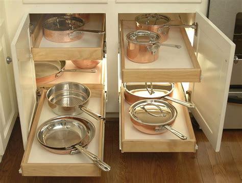 shelfgenie blind corner cabinet solution kitchen ideas