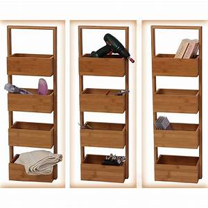 Badezimmer Regal Bambus : badezimmer regal design ~ Whattoseeinmadrid.com Haus und Dekorationen