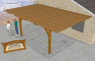 building plans patio cover 187 woodworktips