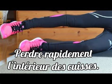 exercice fitness perdre des cuisses
