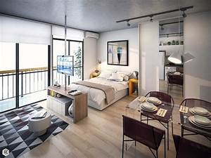 24 studio apartment ideas and design that boost your comfort With single bedroom apartments a studio with functional purposes