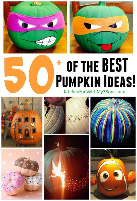 pumpkin decorating ideas kitchen fun