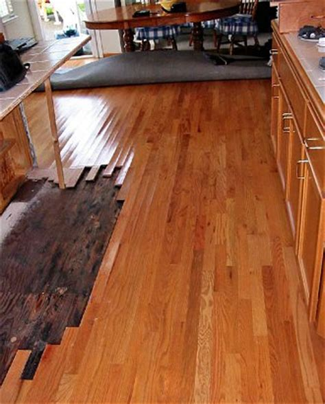 Wood Floor Buckling Dishwasher by Ta Hardwood Floor Installation Repair Refinishing