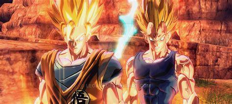 Majin L Vs Goku by Goku Vs Majin Vegeta By Leonf7 On Deviantart