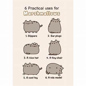 Pusheen Marshmallows card — MeowCo