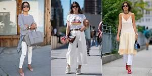 comment porter le jean blanc cosmopolitanfr With quelle couleur avec le bleu marine 13 conseil mode comment porter le jeans de couleur mode