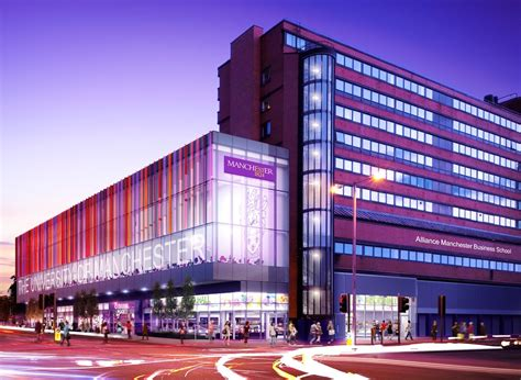 alliance manchester business school awarded  million