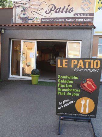 le patio challans le patio challans 157 rue carnot restaurant avis