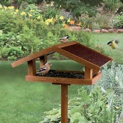 Mangeoire Oiseaux Jardin by Mangeoire Sur Pied Eco Mangeoire Pour Oiseaux Des