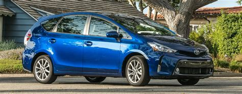 Changes To The 2017 Toyota Prius V Design
