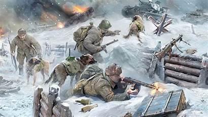 Wallpapers Tanks Battle Fire Desktop