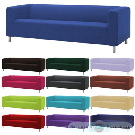 Ikea Settees Uk by Slipcover For Ikea Klippan 4 Seater Sofa Cotton Twill Sofa
