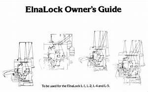 Elna L1 L2 L4 L5 Owners Guide