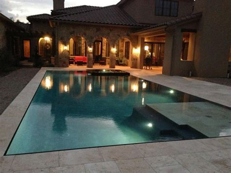 Perimeter Overflow Pool   Contemporary   Pool   Austin