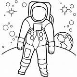 Astronaut Coloring Pages Printable sketch template