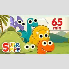 10 Little Dinosaurs + More  Kids Songs  Super Simple Songs Youtube