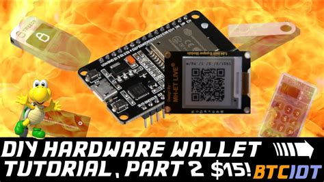 A hardware wallet is a physical device and special type of program that stores the user's private keys in a secure hardware device. BTCIOT - DIY Bitcoin Hardware Wallet, Part 2 *Koopa* (only $15!) - YouTube