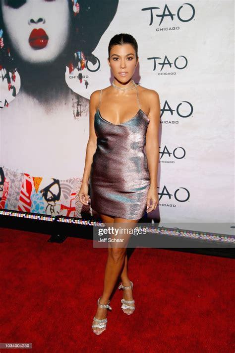 Kourtney Kardashian attends the TAO Chicago Grand Opening ...