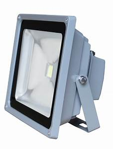 W led outdoor security flood light construction work