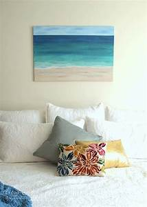 DIY Beach Painting Creating Textures And Artwork Artsy
