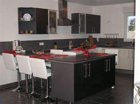 implantation cuisine ouverte implantation cuisine ouverte maison design bahbe com