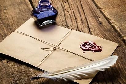 Envelope Letter Wax Feather Sealing Ink Bottle