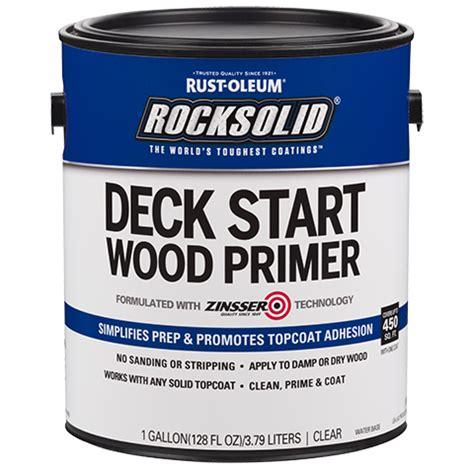 rocksolid deck start wood primer product page