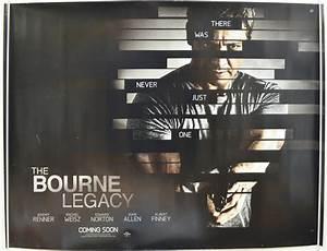 THE BOURNE LEGACY (2012) Original Quad Movie Poster ...