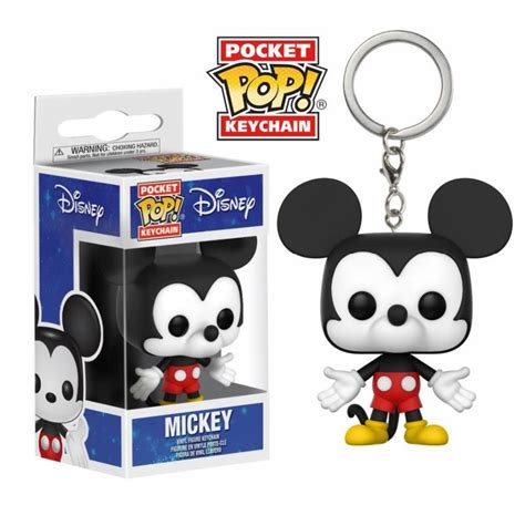porte cles disney pocket pop mickey mouse cm funko
