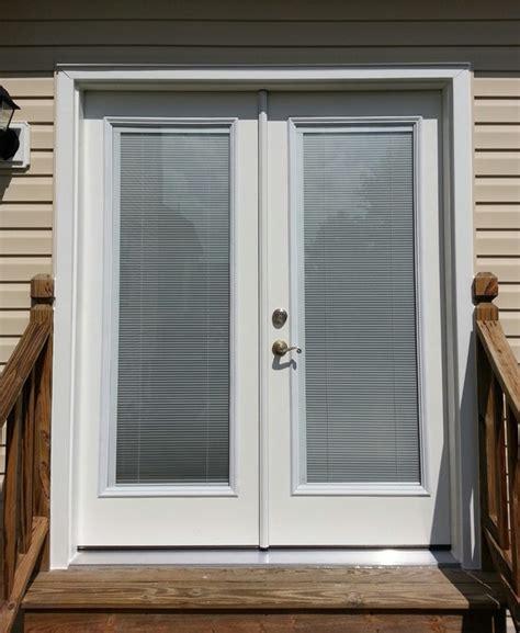 fiberglass blinds between glass doormasterstm