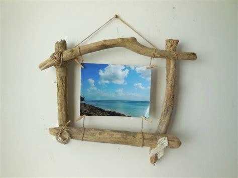cadre photo en bois flott 233 ingrid cr 233 ations