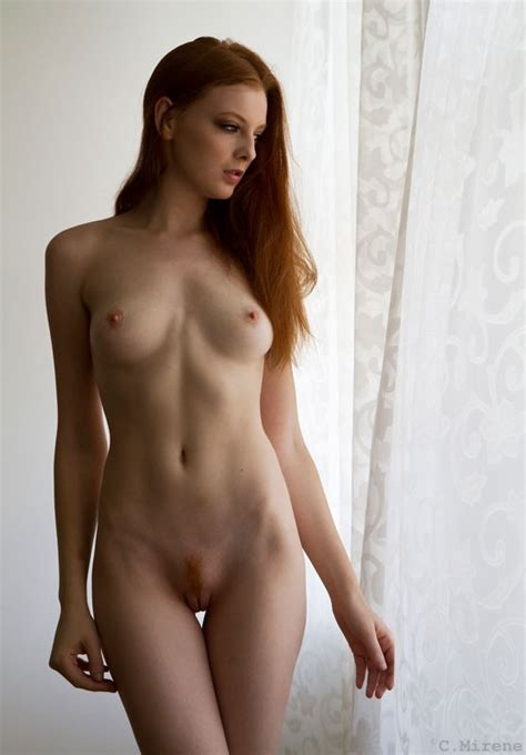Perfect Body And A Nice Ginger Landing Strip Porn Pic