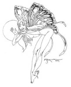 Moon Fairies Coloring Pages