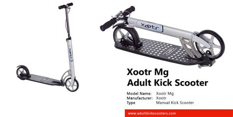 Xootr Mg Kick Scooter Review