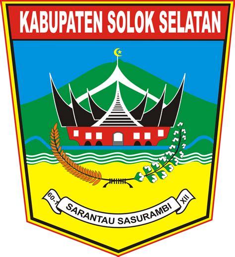 logo kabupaten solok selatan kumpulan logo indonesia