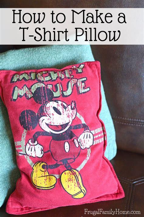 tutorial turn  outgrown  shirt   cute  pillow