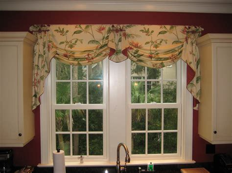 window treatments for kitchen window over sink valance idea for over the kitchen sink window treatments