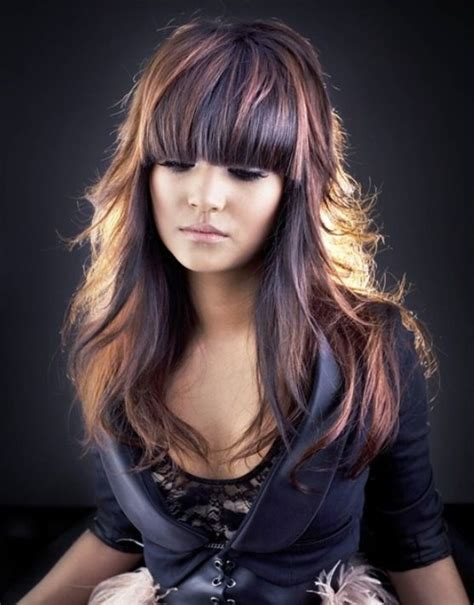 Cool Multi Chromatic Latest Fall Hair Color Ideas 2013